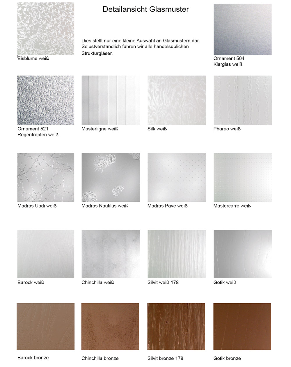 glas haust ren muster mattenwereld. Black Bedroom Furniture Sets. Home Design Ideas